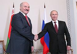 Президент Беларуси А.Лукашенко и Президент России В.Путин обсудили ситуацию в экономике и на валютном рынке России